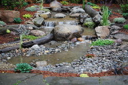 Pondless Waterfall Installation