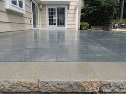 Raised Bluestone Patio