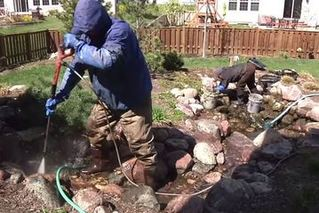 Pond Cleaning Services